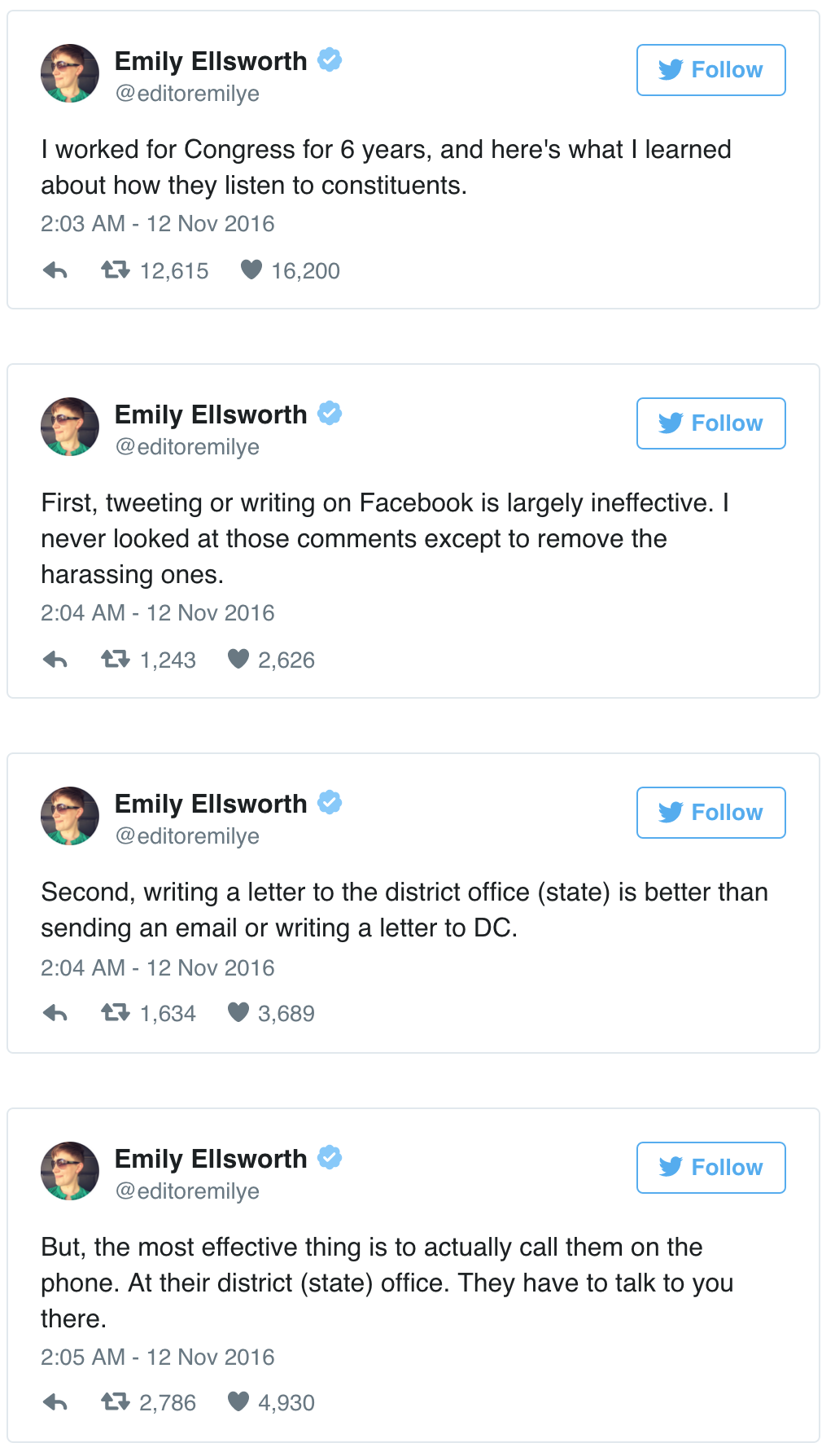 excerpt from Emily Edsworth's storify